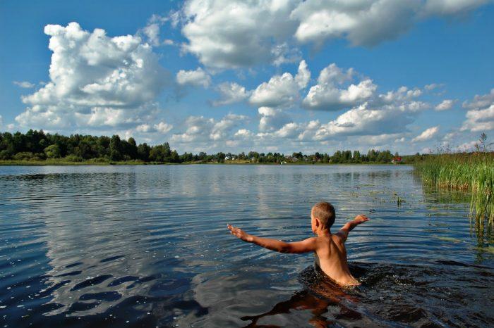 плавание в открытых водоемах