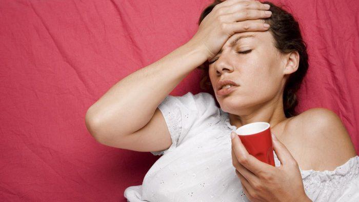рвота и головная боль