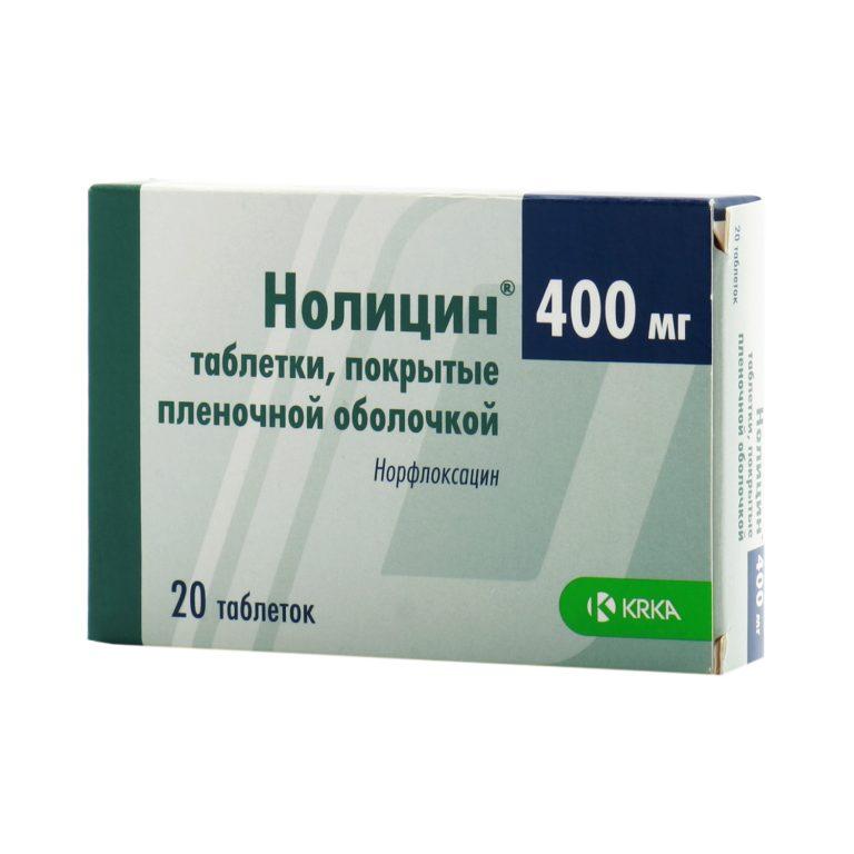Нолицин 400 инструкция по применению