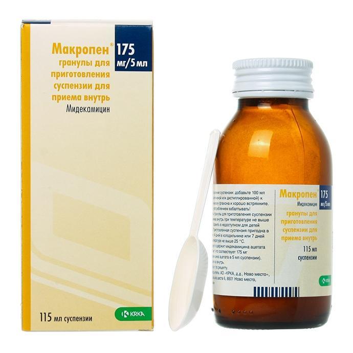 макропен является антибиотиком