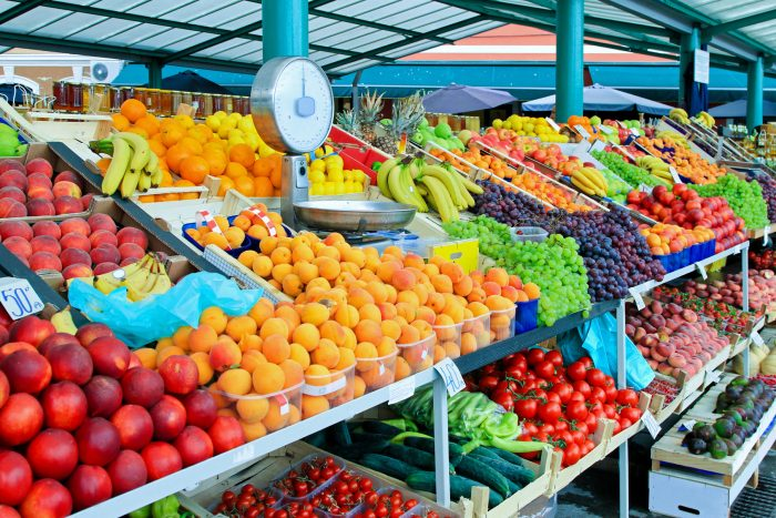 любые немытые фрукты/овощи
