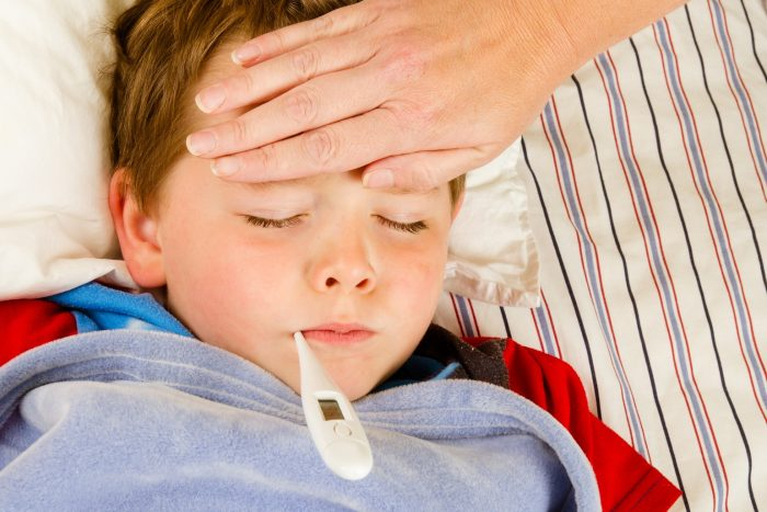 температура при глистах