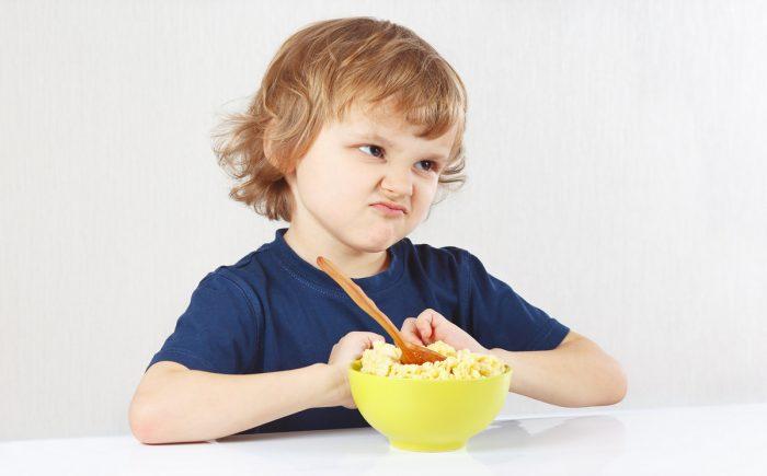 малыш может отказываться от еды
