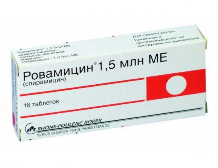 антибиотик из группы макролидов