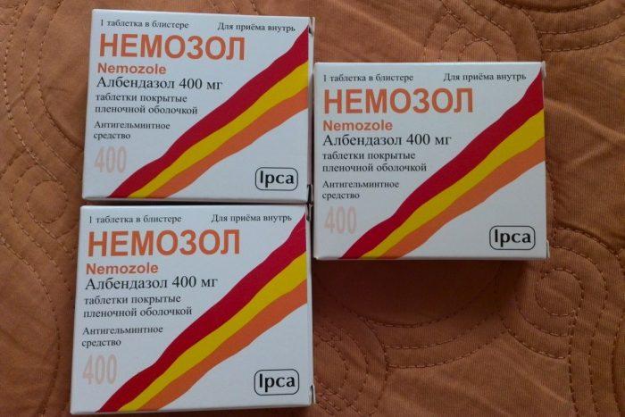 немозол для лечения энтеробиоза