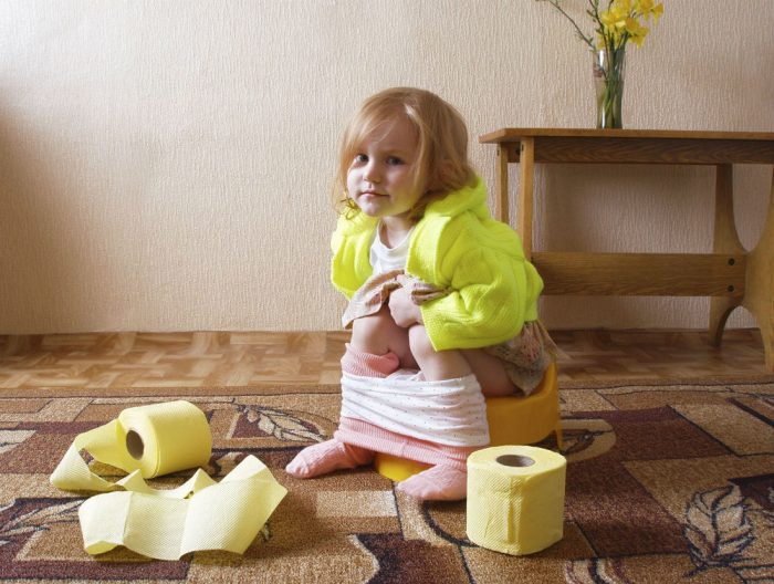 понос от глистов у детей