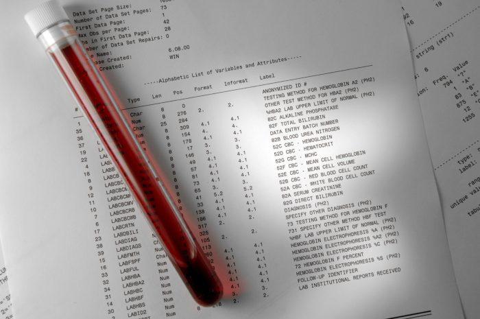 расшифровка результатов анализов
